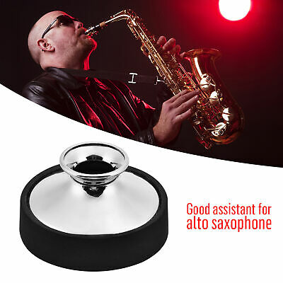 LADE Pro Sax Mute Sound Dampener Silencer for Alto Saxophone Accessories Durable