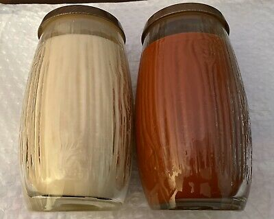 2 YANKEE CANDLE 22 OZ WHISPER PURE RADIANCE CRACKLING LARGE JARS *DISCONTINUED*