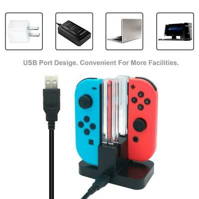For Nintendo Switch Joy-Con Charging Dock Charge for up to 4 Controllers VS4796