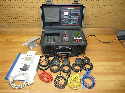 AMPROBE DM-II Data Logger / Recorder *NICE* Complete and Powered Up