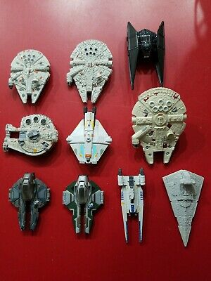 Galoob Micro Machines Applause Hasbro Hot Wheels Star Wars Diecast Toy Ships