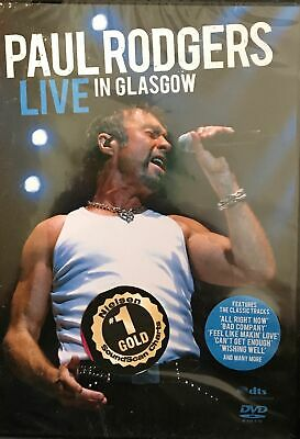 Paul Rodgers (Free) - Live In Glasgow (DVD, 2007) - Brand New Factory Sealed