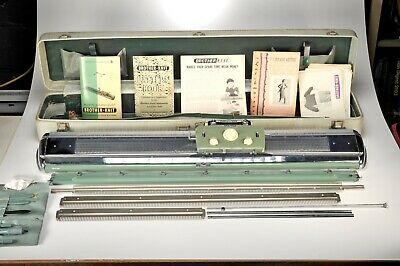 "Original Brother Knit Yard Machine ""Automatic Home Knitter"" 1958 in Travel Case"