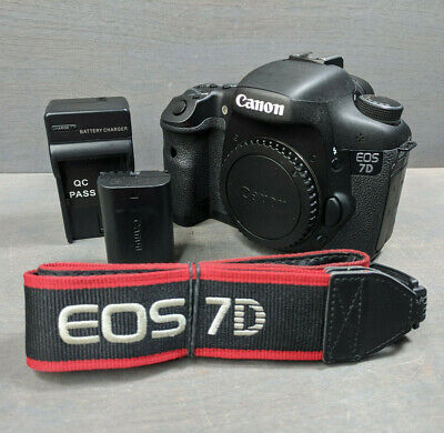 Canon EOS 7D 18.0MP Digital SLR Camera - Black (Body Only) - CF Card Error