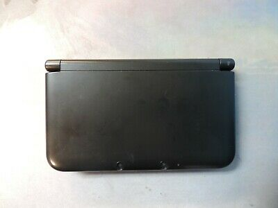 Nintendo 3DS XL Black Console Works But FOR PARTS or REPAIR Please Read