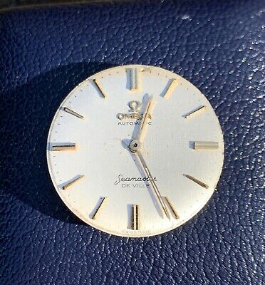 Omega Automatic Seamaster De Ville Cal 552 Not Working For Parts Repair Vintage