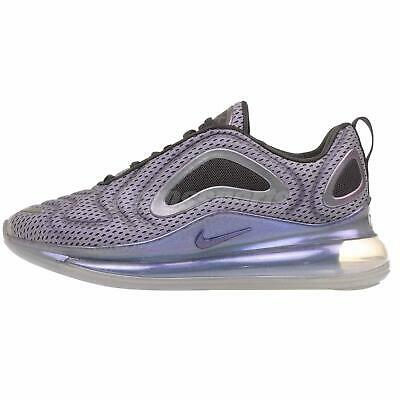 Nike Air Max 720 GS Running Kids Youth Shoes Silver AQ3196-002