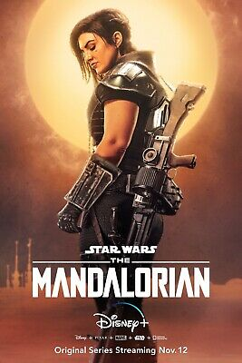 "The Mandalorian Poster (11"" x 17"" ) Collector's Print Disney Star Wars Carano"