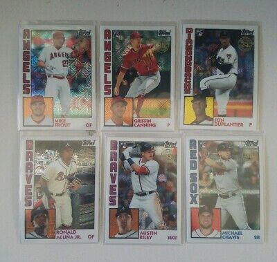 2019 Topps Update 1984 Chrome Silver Pack Single - Complete Your Set You Pick