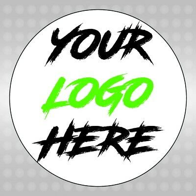 Printed Round Stickers LOGO - Custom Logo labels -personalised postage labels