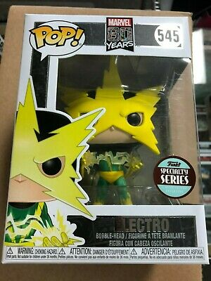 Electro/First Appearance/Marvel/Specialty Series/Funko Pop/2019/BRAND NEW