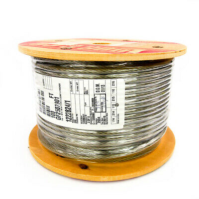 Loos & Co. GF2507901 Nylon Coated Galvanized Steel Aircraft Cable