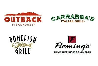 $50 Outback Steakhouse, Bonefish and Carrabba's (Online Same Day Email Delivery)