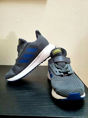 Adidas Shoes Kids Duramo 9 size 10k Grey and blue