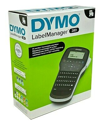 DYMO LabelManager 280 Easy-To-Use Lightweight Label Maker LMR-280