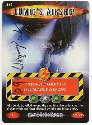 Dr Who - Lumic's Airship - Signed Roger Lloyd Pack - Battles in Time Card 271