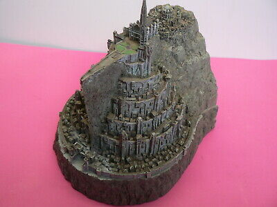 Lord of The Rings,Minas Tirith Capital of Gondor Model Statue Free Post!