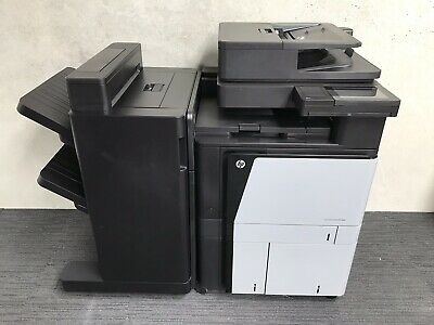 HP Laserjet Flow MFP M880 Photocopier Printer Copy & Scan Great Colour A4 - A3