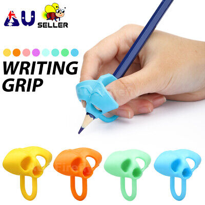 Children Pencil Hold Writing Holder Two-finger Aid Grip Posture Correction Tools