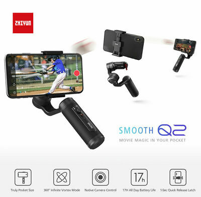 ZHIYUN Smooth Q2 3-Axle Handheld Gimbal Stabilizer For IOS & Android Smartphone