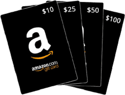 $5,10,25,50 Value Amazon Gift Card free and fast shipping