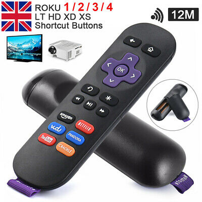 GENUINE REPLACEMENT Remote Control For ROKU 1/ 2/ 3/ 4 LT HD XD XS Media Player