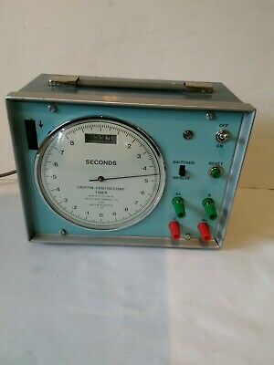 Griffin  Centisecond Timer, Vintage - Electronics - Physics - Laboratory Tool