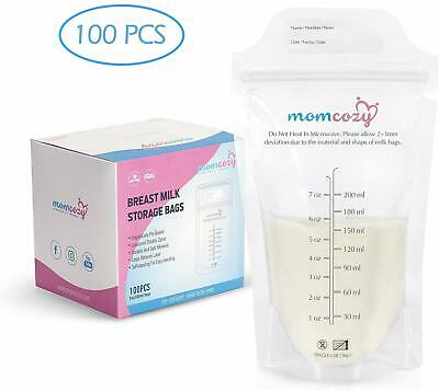 Breast Milk Storage Bags 200ML Momcozy Breastmilk Containers Leakproof NEW