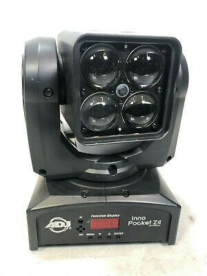 ADJ Inno Pocket Z4 Moving Head 40W RGBW Light