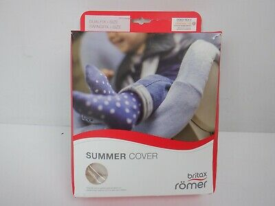 Britax Römer Dualfix i-Size Summer Cover, Off-White