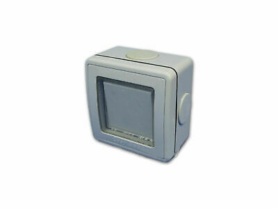 Outdoor Electric Switch (1 Gang, 2 Way, 16 Amp)