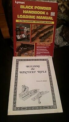 Lyman Black Powder Handbook 2nd Edition. Building the Kentucky rifle. Johnston
