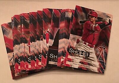 2019 Topps Update SHOHEI OHTANI Highlights retail only COMPLETE YOUR SET 11/8/19