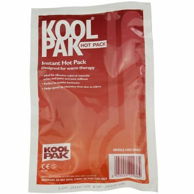 Koolpak Instant Hot Pack - Instant - Muscle Relief / Back Pain