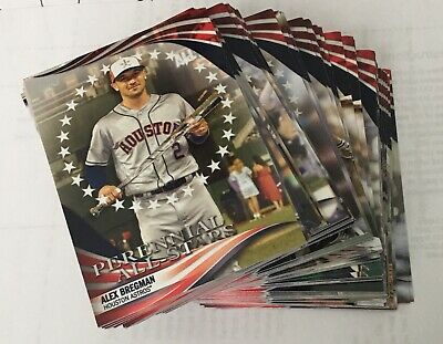 2019 Topps Update PERENNIAL ALL STARS Retail Only COMPLETE YOUR SET