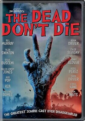 The Dead Don't Die DVD New and Unopened! Free Shipping!