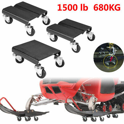3 Piece Set Tire Wheel Dollies Dolly Heavy Duty Vehicle Car Auto Repair 1500LB