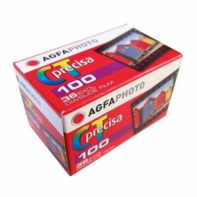 Agfa Photo CT 100 Precisa 100 35mm 135 36 Exp Agfachrome Color Slide Film 2/2019