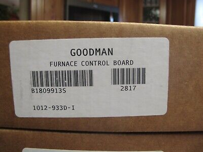 Goodman B1809913S furnace control board Brand New UNopened