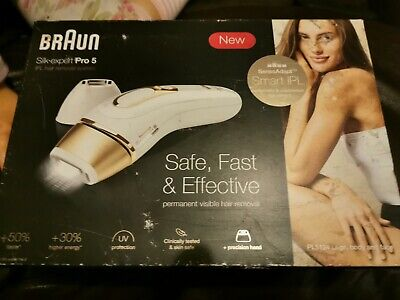 Braun Silk Expert Pro5 PL5014 Latest Gen IPL, Permanent Hair Removal **SALE**