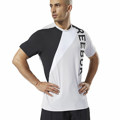 Reebok Men's One Series Training Colorblock Tee