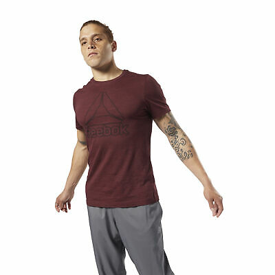 Reebok Men's Training Essentials Marble Melange Tee