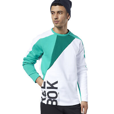 Reebok Men's One Series Training Colorblock Sweatshirt
