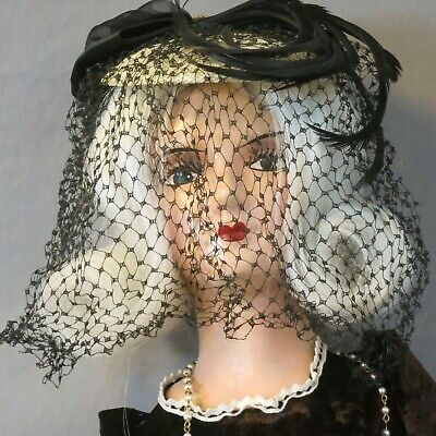 Antique 1920s French Boudoir Doll  26 inch approx