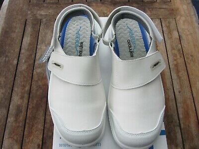 Abeba Safety Shoes Safety Clog Size 41 White