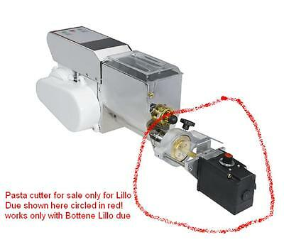 Bottene Lillo Due Italy Electric Motorized Pasta Noodle Cutter Machine