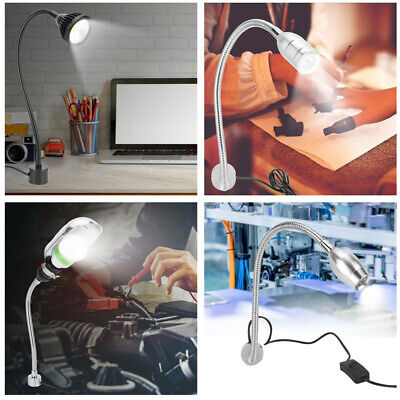7W LED Machine Work Light Magnetic Hose CNC Sewing Milling Lamp for Beauty Nail
