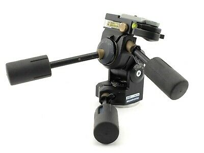 RÓTULA MANFROTTO # 229 PARA TRÍPODE Pan-and-Tilt Head with 030-14 Quick Release
