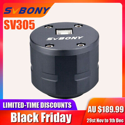 "SV305 2MP Astronomy Camera 1.25""USB Electronic Eyepiece for Planetary Viewing AU"