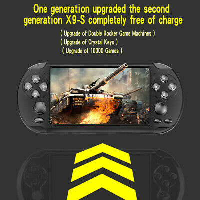 Portable Handheld X9 Video Game Console  Bit Built In 1000+Game Kids Player New